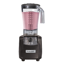 Hamilton Beach HBH650 Tempest High Performance Blender, two speed motor, 64 oz. capacity, stackable polycarbonate container, variable timer