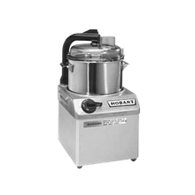 Hobart FP41-1 Food Processor, 4 qt. bowl design, 1725 rpm, stainless steel bowl with see-thru cover, bowl-scraper, direct drive motor, triple safety