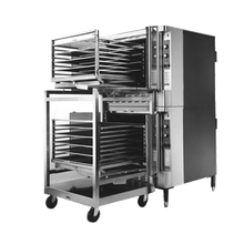 Blodgett ZEPH-200-E RI D Zephaire Roll-In Convection Oven, electric, double-deck, bakery depth, capacity (5) 18