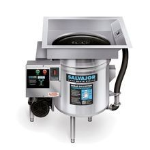 Salvajor S914 Scrap Collector, scrapping, pre-flushing & collecting system (widely accepted in areas where disposers are restricted), NEMA 4