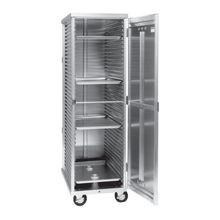 Cres Cor 102-ST-1841E Cabinet, mobile, enclosed, full height, single wall non-insulated, corrugated sides taking (38) 18