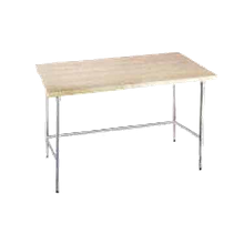 Advance Tabco TH2G-245 Maple Top Work Table, 60