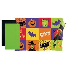 PLACEMAT HALLOWEEN COMBO WITH NAPKIN (250)
