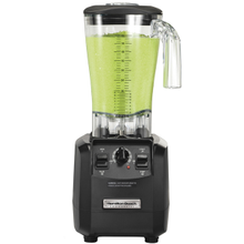 Hamilton Beach HBH550 Fury High Performance Blender, two speed motor, 64 oz. capacity, stackable polycarbonate container, paddle switches, variable timer