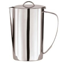 Krug Water Pitcher, 57 ounce capacity, with ice guard, stainless steel, Arthur Krupp, 1 each (1 ea/cs), Rosenthal Sambonet 66216-16
