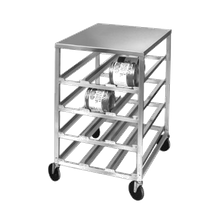 Channel CSR-4M Can Storage Rack, half size, mobile, 25-3/4