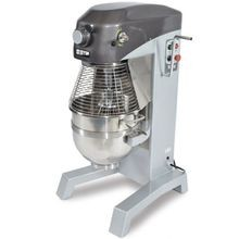 Doyon EM20 Planetary Mixer, floor model, 20 quart capacity, 3 speeds, timer, emergency stop, manual bowl lift, includes: stainless steel bowl, safety