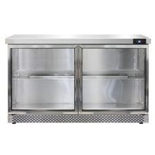 Continental SW48-GD-FB Work Top Display Refrigerator, Front Breather, 48