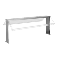 Eagle BSH4 Buffet Shelf, with clear polycarbonate sneezeguard, 23-7/8