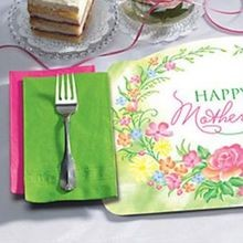 PLACEMAT MOTHERS DAY COMBO WITH NAPKIN (250)