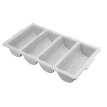 FMP 280-1308 Cutlery Tray, 4 compartment, 21-3/4