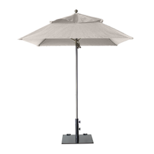 Grosfillex 98662531 Windmaster Umbrella, 6-1/2 ft., square top, 1-1/2