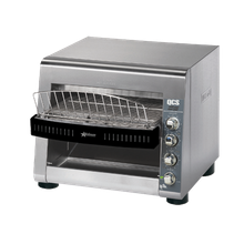 Star QCS3-1600B Star QCS Conveyor Toaster, electric, 1600 slices/hr. bagel toaster, horizontal conveyor, analog speed control, standby switch