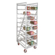Channel Mfg CSR-99M Can Storage Rack, Heavy Duty, full size, mobile, 25-1/2