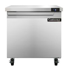 Continental SWF32 Work Top Freezer, 32