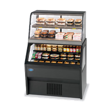 Federal CH3628SS/RSS3SC Specialty Display Hybrid Merchandiser Refrigerated Self-Serve Bottom with Hot Self-Serve Top, 36