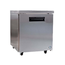 Hoshizaki CRMR27 Commercial Series Undercounter Refrigerator, Reach-In, One Section, 27