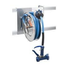 T&S Brass B-7132-05 Hose Reel System, open, stainless steel, 3/8