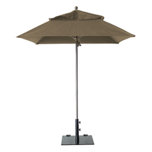Grosfillex 98668131 Windmaster Umbrella, 6-1/2 ft., square top, 1-1/2