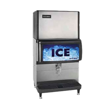 IceOMatic IOD250 Ice Dispenser, counter model, approximately 250 lb storage capacity, lever dispensing, 10-1/2