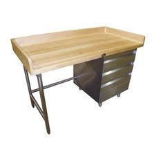 Advance Tabco BST-306R Bakers Top Work Table, 72