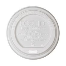 ECOLID 10-20OZ HOT CUP LID COMPOSTABLE (800)