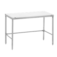 Channel CT372 Work Table with poly top, 72