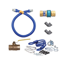 Dormont 1675KITS48 Blue Hose Moveable Gas Connector Kit, 3/4