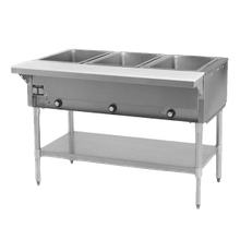Eagle DHT5-208-1X Hot Food Table, electric, open base, 79