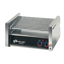 Star X30 Grill-Max Hot Dog Grill, roller-type, stadium seating, chrome-plated rollers, capacity 30 hot dogs, infinite controls for front & rear