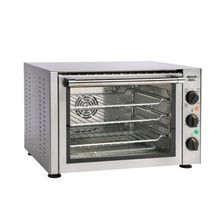Equipex FC-33/1 Sodir Convection Oven/Broiler, electric, countertop, single-deck, 450F thermostatic controls, 2 quartz heating elements overhead