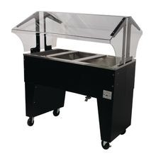 Advance Tabco B3-CPU-B-X Ice Cooled Portable Food Buffet Table, 47-1/8