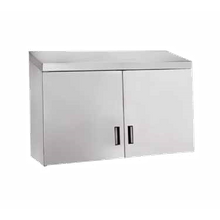 Advance Tabco WCH-15-72 Cabinet, wall mount, enclosed design with (4) hinged doors, 72