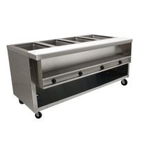 Advance Tabco HDSW-4-120-BS Heavy Duty Sealed Well Hot Food Table, electric, 62-7/16