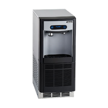 Follett 7UC100A-IW-NF-ST-00 7 Series Ice & Water Dispenser, undercounter, integral air-cooled ice machine, Chewblet compressed nugget ice, 125 lb.