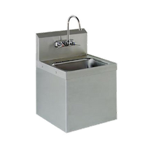 Advance Tabco 7-PS-747 Hand Sink, class 2 upgrade, security unit, wall model, 14