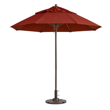 Grosfillex 98818231 Windmaster Umbrella, 9 ft., round top, 1-1/2