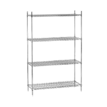 Advance Tabco ECP-74-X Wire Shelving Post, 74