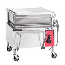 Vulcan VG40 Braising Pan, Gas, 40-gallon capacity, 46