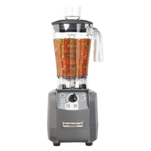 Tournant™High-Performance Food Blender, 64 oz. polycarbonate container. Adjustable speed, pulse switch, jar pad sensor.
