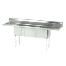 Advance Tabco FC-3-1824-24RL-X Fabricated NSF Sink, 3-compartment, 24