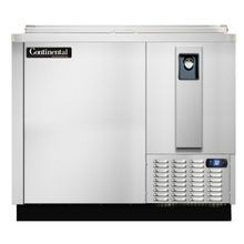 Continental CBC37-SS Flat Top Bottle Cooler, 37
