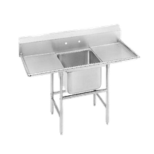 Advance Tabco 94-81-20-36RL Regaline Sink, 1-compartment, with left & right-hand drainboards, 28