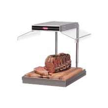 Hatco GRCSCLH-24 Carving Station, countertop, with heat lamps, ceramic heating elements, incandescent light, sneeze guard on right side, heated base