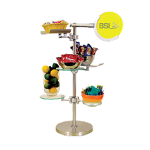 BSI ZS-100K-9 ZSpace Large Beverage Display Kit #9, includes (3) EZ-Clamps, (1) medium Flexi-Ring & (2) aluminum trays, (1) 8