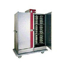 Carter-Hoffmann BB1300 EquaHeat Banquet Cabinet, mobile, insulated, double door for pre-plated food, electric or canned heat, (120) covered 8-3/4