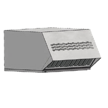 Electrolux 9R0015 (ECOV-30) Halton Condensate Hood, fits on Electrolux Air-O-Steam 61 & 101 ovens only models 267280, 267320, 267282, 267322
