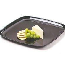 TRAY SQUARE CATER PLASTIC 14