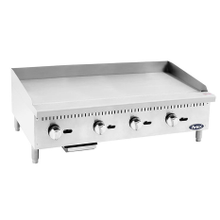 Atosa ATMG-48 CookRite Heavy Duty Griddle, gas, countertop, 48