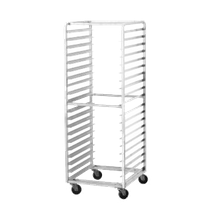 Advance Tabco PR15-4WS Pan Rack, mobile, full height, side loading, 28-1/4